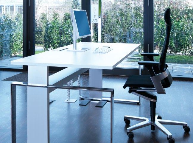 ergonomische höhenverstellbare Schreibtische