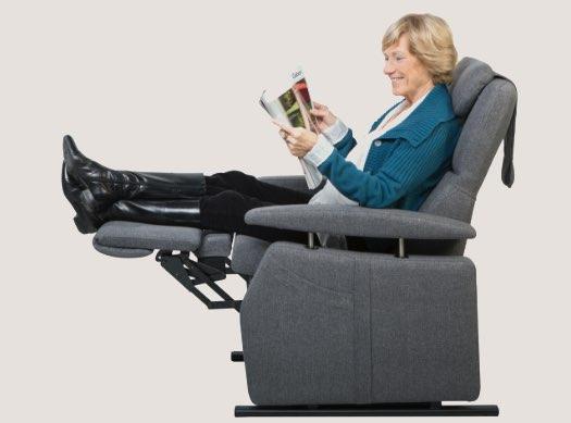 fitform Sessel entspannt lesen