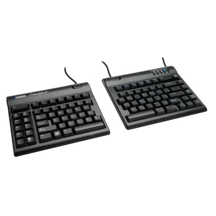 kinesis freestyle keyboard ausgeklappt