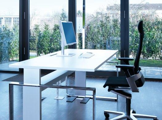 Leuwico iMove ergonomischer Schreibtisch