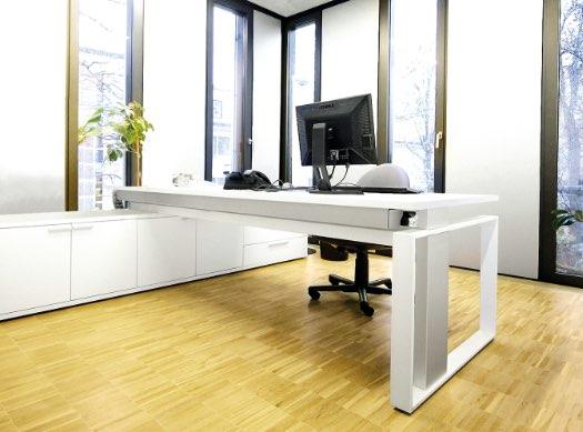Leuwico iMove Schreibtisch Anwendung