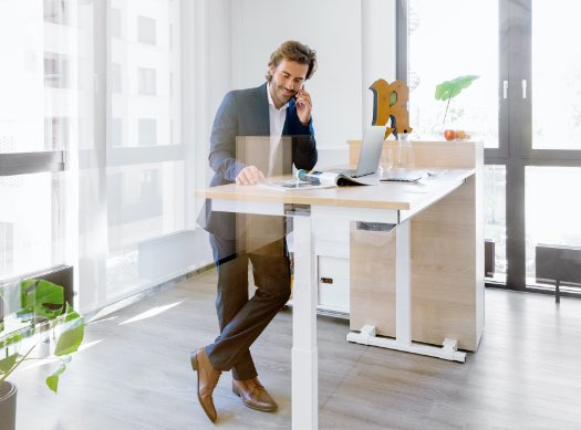 reiss Schreibtisch höhenverstellbar