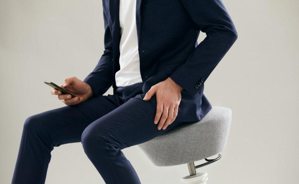 Stuhl aktiv sitzen